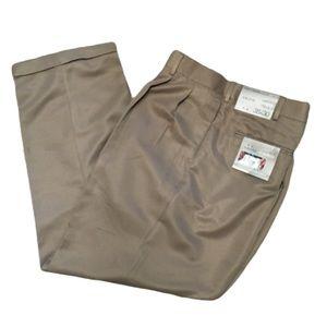 Savane Platinum Power Threads Tan Pants 38x30
